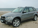 BMW serie 5 sul mare