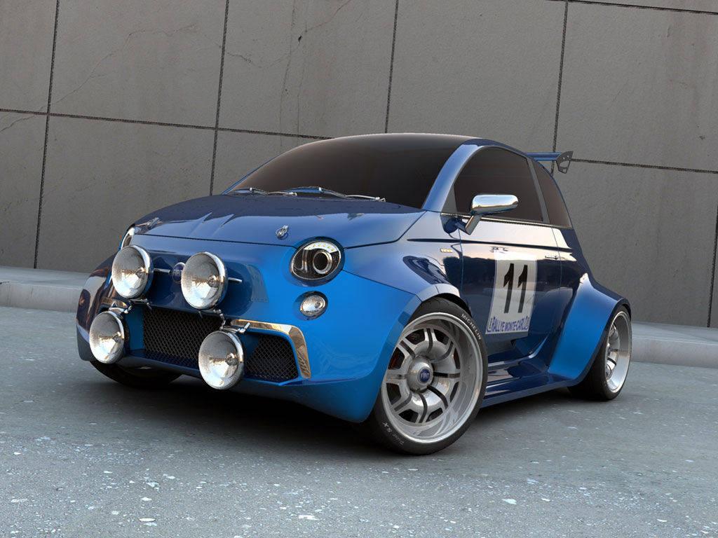 Foto Anche La Nuova 500 Versione Rally Fiat 500