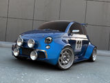 ...anche la nuova 500 versione rally...